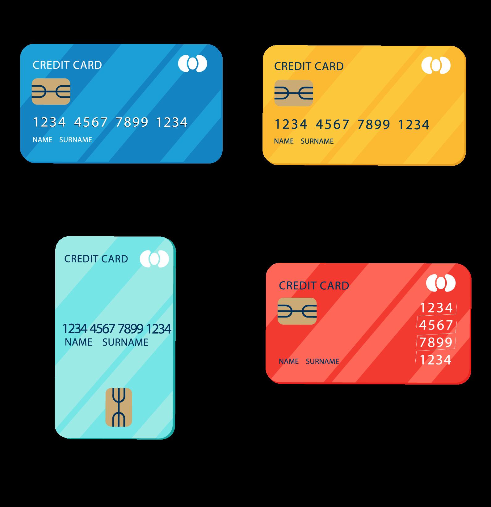 信用卡辨識引擎-各種信用卡